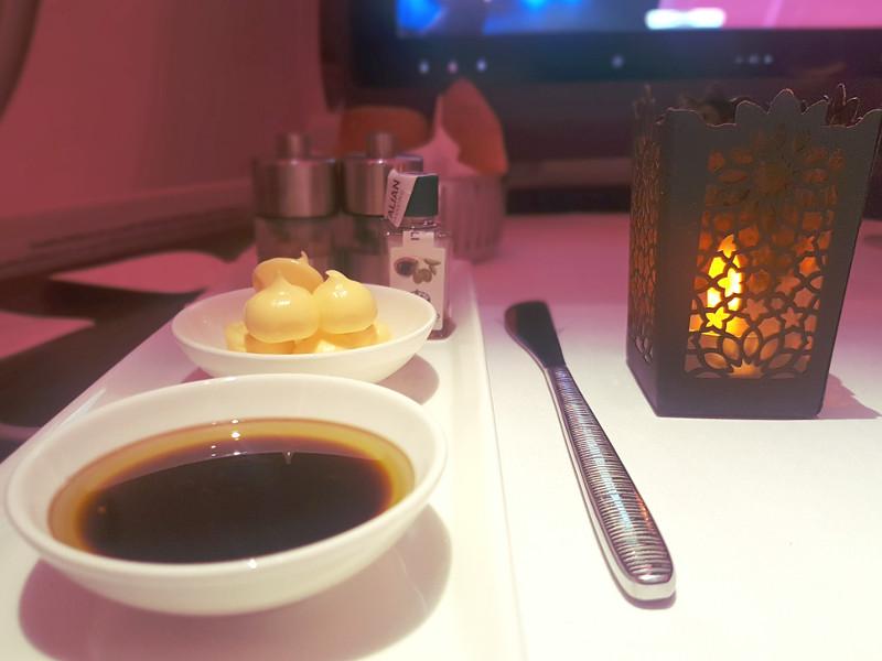 Qatar Airways Qsuite Restaurantservice Dine on demand