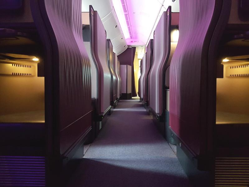 Qatar Airways Qsuite Business Class Sitze Erfahrung