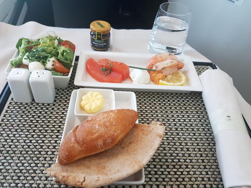 Saudi Arabian Airlines Business Class Erfahrung