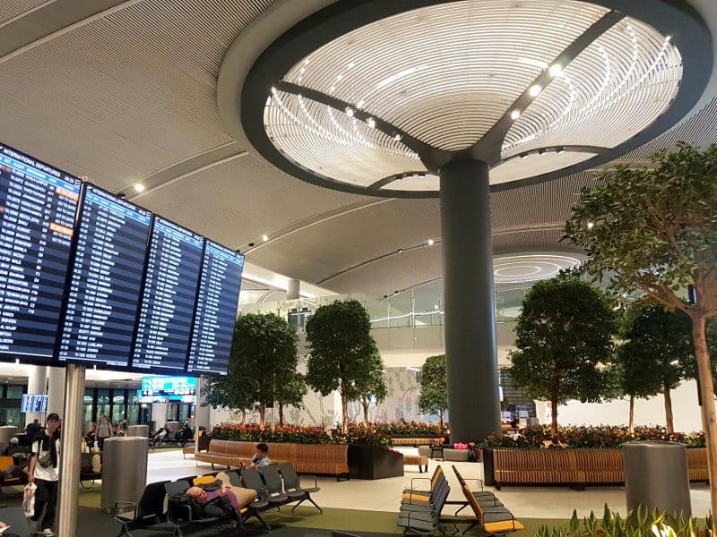 Neuer Flughafen Istanbul: Wartebereich am Gate