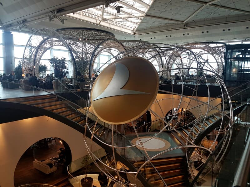 Alte Turkish Airlines Lounge Istanbul