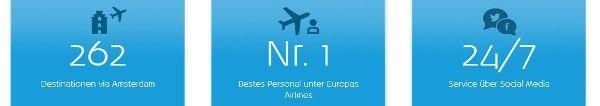 Deshalb lieben Reisende KLM