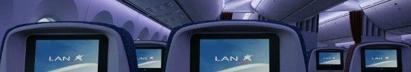 LAN Airlines Economy Boeing 787 Dreamliner