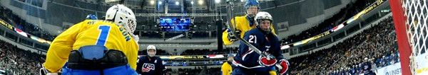 Unterstützen Sie die Nationalmannschaft bei der IIHF Eishockey Weltmeisterschaft 2014! Flugangebote nach Minsk ab 139 EUR