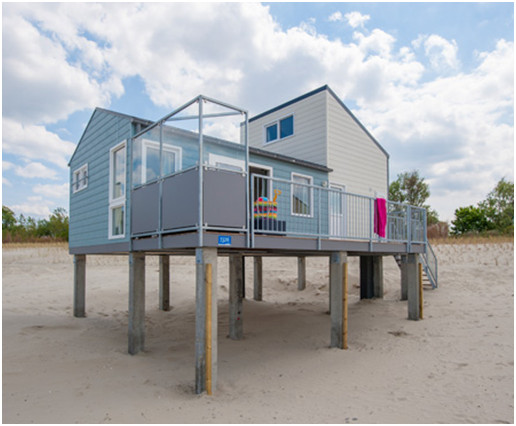 Beach Houses direkt am Strand
