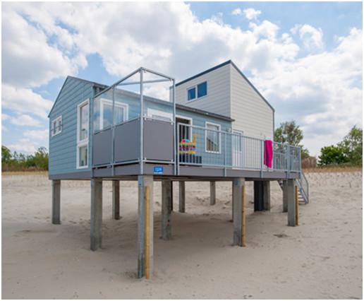 Beach Houses direkt am Strand