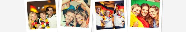 Germanwings Fußball Weltmeisterschaft Gewinnspiel: Fußballfan Fotos hochladen und 1 Jahr fliegen wie ein Champion