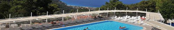 Türkische Ägäis – 4 Sterne Hotel All Inclusive Woche mit grandiosem Panoramablick , jetzt 377 EUR