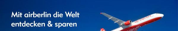 Schnell zuschlagen: 100 Euro Gutschein für die ersten 99 Buchungen bei Expedia für Hotel + airberlin Flug Buchungen! Toller Rabatt