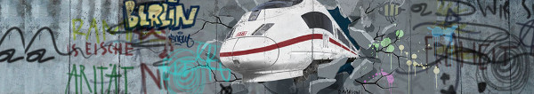 Mauerfall Spezial Ticket bei der DB Bahn: Für 25 EUR deutschlandweit mit der Bahn fahren
