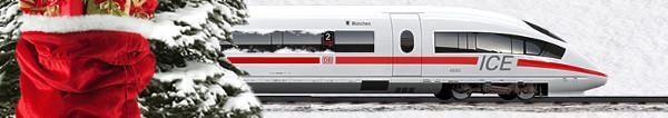 Adventskalender Gewinnspiel der Deutschen Bahn und anderer Anbieter: Tägliche Gewinne vom Reiseführer bis zur 1000 EUR Pauschalreise