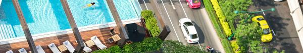 Hoteltipp in Bangkok: Charmantes VIE Hotel Bangkok, schöne, sehr geräumige Zimmer und super Lage