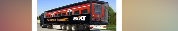 Sixt Kampagne zum Bahnstreik