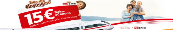 Toffifee Aktion: 15 EUR Gutschein für Tickets der DB Bahn in jeder Toffifee Aktionspackung