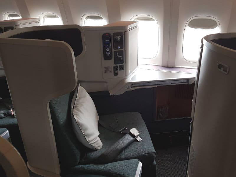Business Class von Cathay Pacific