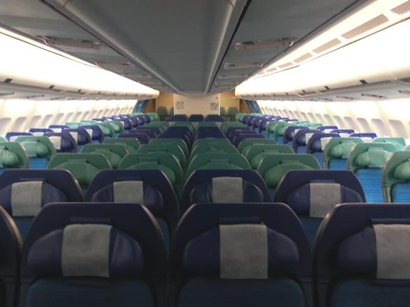 Economy Klasse von Cathay Pacific