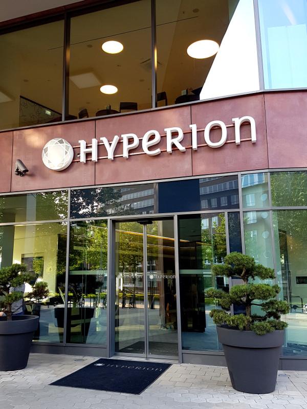 Eingangsbereich des Hyperion Hotel Hamburg