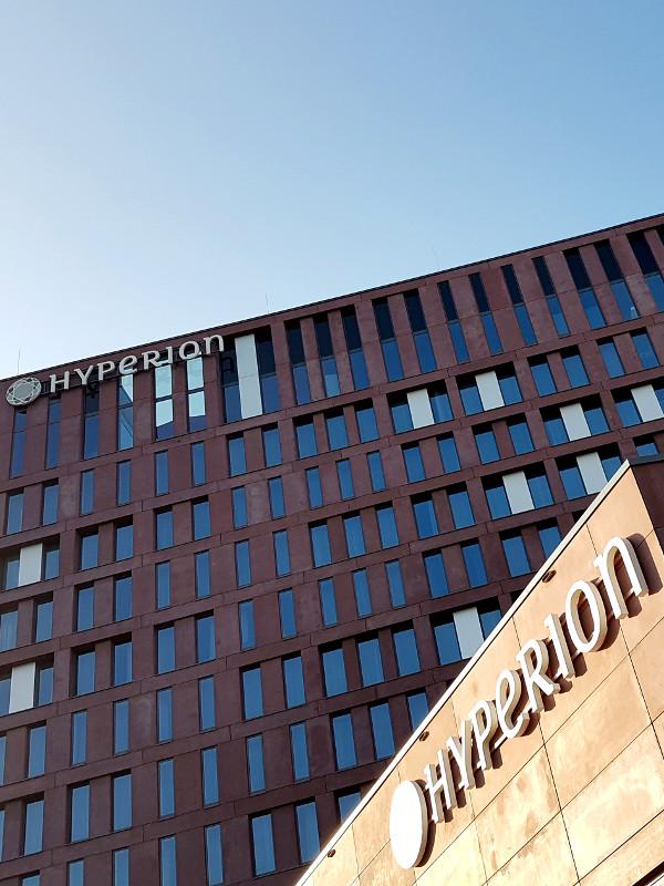 Aussenansicht des Hyperion Hotel Hamburg