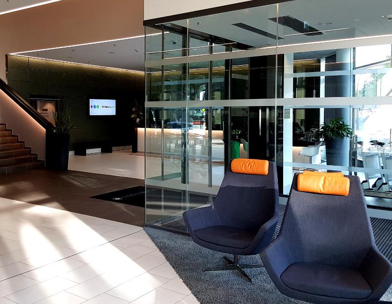 Lobby des Hyperion Hotel Hamburg