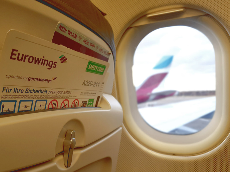 Eurowings Blind Booking