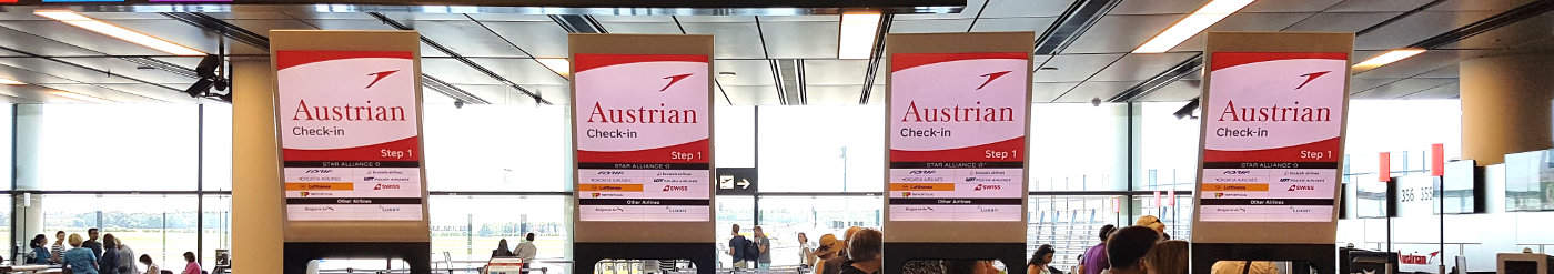 20% Rabatt auf Flüge von Austrian Airlines – gilt für Europaflüge, die Samstag und Sonntag mit Gutschein Code gebucht werden