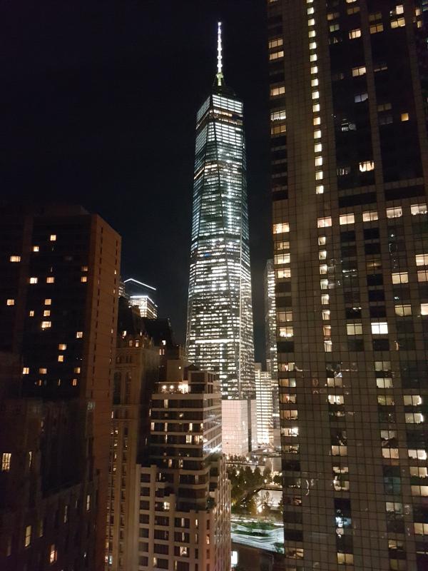 Zimmeraussicht Holiday Inn Manhattan