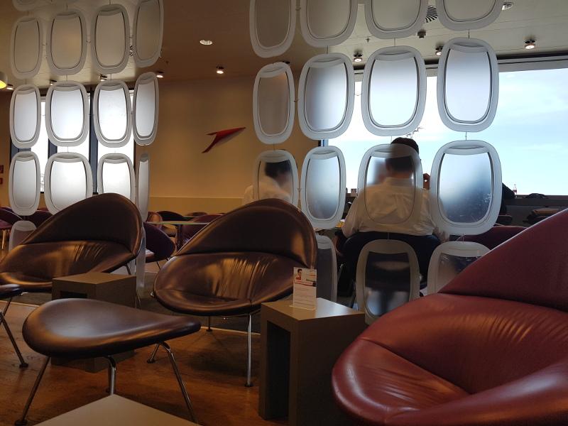 Vor dem Flug mit Austrian Airlines entspannen Sie in der Lounge