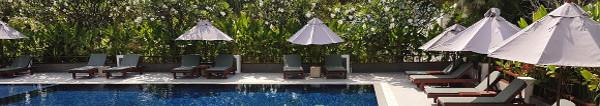 Urlaub auf Raten - Pool in Bangkok, Thailand