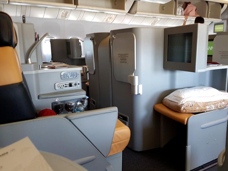 Alitalia Business Class Erfahrung