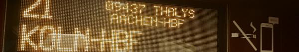 Bahnreisen billiger: 15 EUR Gutschein für alle Bahn TGV, ICE, Thalys und Eurostar Zugreisen