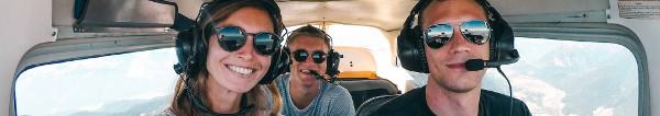Rundflüge und Ausflüge im Privatflugzeug ab 38 Euro buchen – Verschenken Sie einen einzigartigen Flug – 50 Euro Gutschein