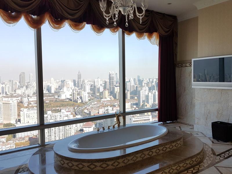 Executive Lounge im Accor Pullman Hotel Shanghai Skyway - wurde zuvor als Presidenten Suite genutzt