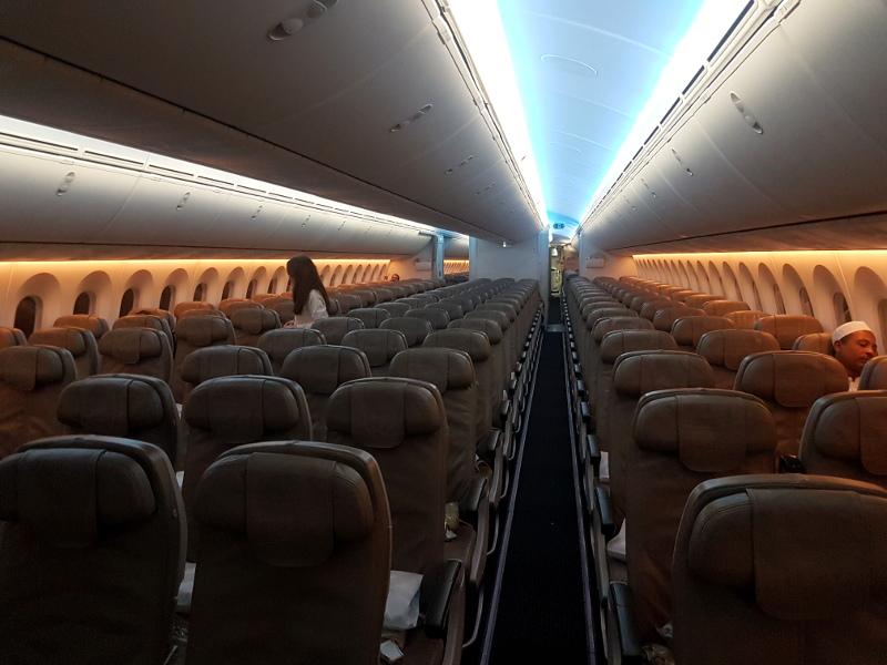 Saudi Arabian Airlines Economy Class Erfahrung