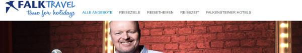 Falktravel Stefan Raab Live in Köl mit Hotel Übernachtung