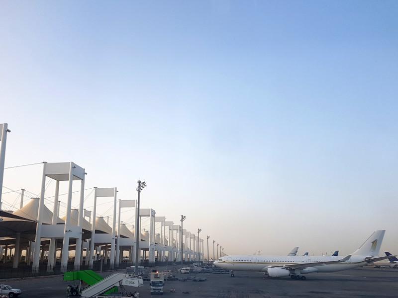 Saudi Arabian Airlines Transit in Jeddah Erfahrung