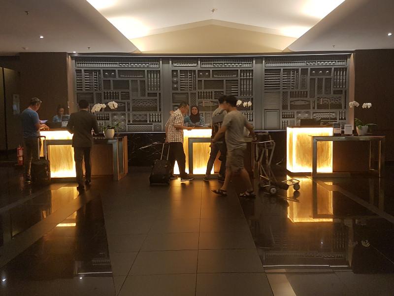 Malaysia Airlines Golden Lounge nach Wiedereröffnung im März 2018
