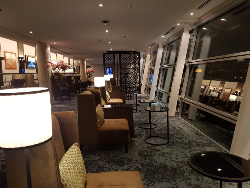 Malaysia Airlines First Class Golden Lounge nach Renovierung im März 2018