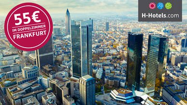 Hotel Deal Frankfurt bei H-Hotels