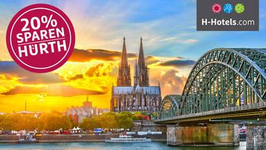 Hotel Deal Köln bei H-Hotels