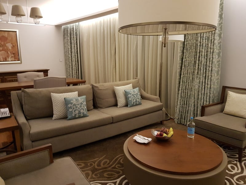 Erfahrugnen Hilton Honors Gold Status - Suite Upgrade