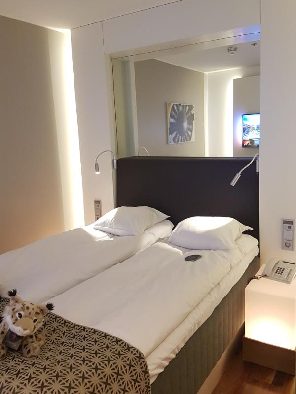 GLO Airport Hotel Helsinki - Moderne Hotelszimmer - ruhig - schallisoliert
