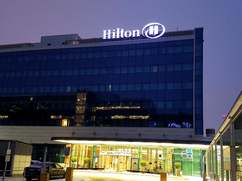 Hilton Helsinki Airport Hotel - Nur 5 min zu Fuss vom FLughafen Helsinki