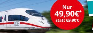 MyTrain Bahn Aktion: Deutschlandweites Bahnticket und Filme, Serien bei Maxdome ab 49,90 Euro