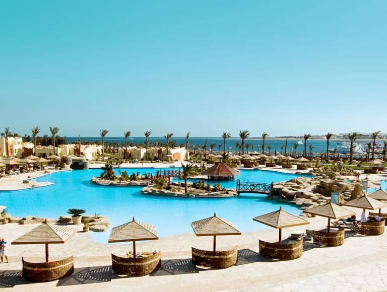 7 Nächte Makadi Bay 5* AI - Flugreise, 5 Sterne Hotel mit 98% HolidayCheck Empfehlung in Ägypten, inkl. Flug, Zug zum Flug, Transfer und All Inclusive, 7 Nächte