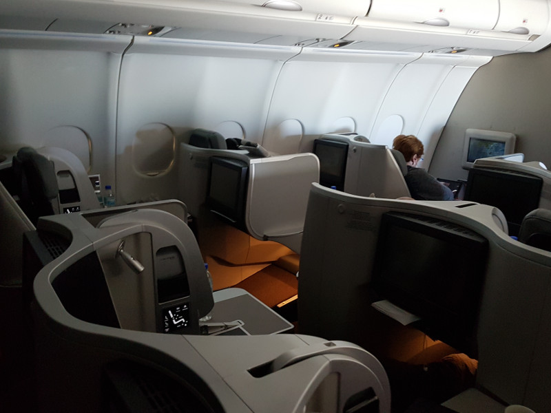 Malaysia Airlines Business Class Sitze Airbus A330 Erfahrung