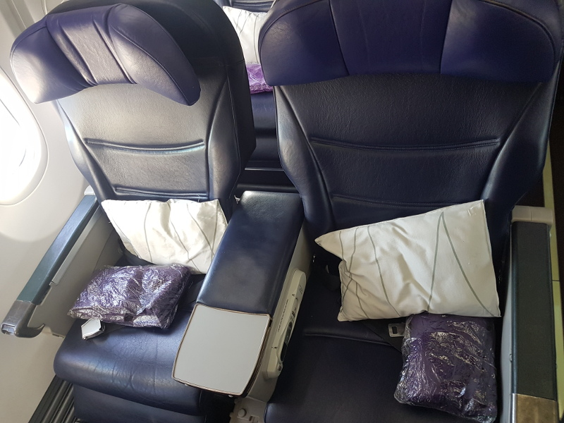 Malaysia Airlines Business Class Sitze B737-800 Erfahrung