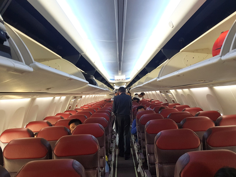 Malaysia Airlines Economy Class Sitze B737-800 Erfahrung