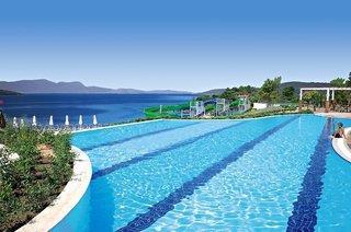 1 Woche Türkei 5* AI - Flugreise, 5 Sterne, La Blanche Island Bodrum, All Inclusive, Flüge, Rail & Fly und Transfers, 7 Nächte, Ersparnis von 43%