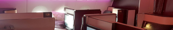 Qatar Airways Qsuite in Deutschland