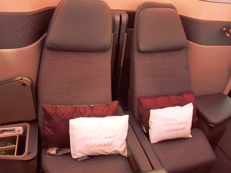 Qatar Airways Qsuite Business Class ideale Sitze für Paare